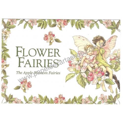 Postal Importado Flower Fairies The Apple Blossom