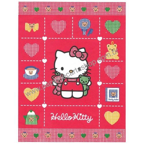 Ano 1994. Papel de Carta Hello Kitty Vintage Sanrio