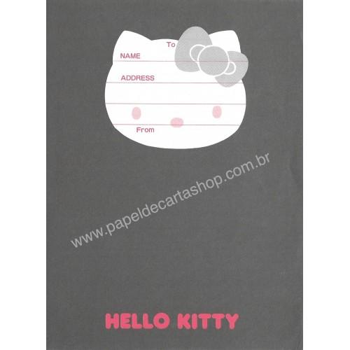 Ano 1987. Papel de Carta Hello Kitty FACE CBL Vintage Sanrio