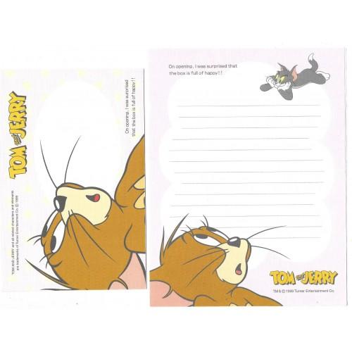Ano 1999. Conjunto de Papel de Carta IMPORTADO Tom & Jerry CRS