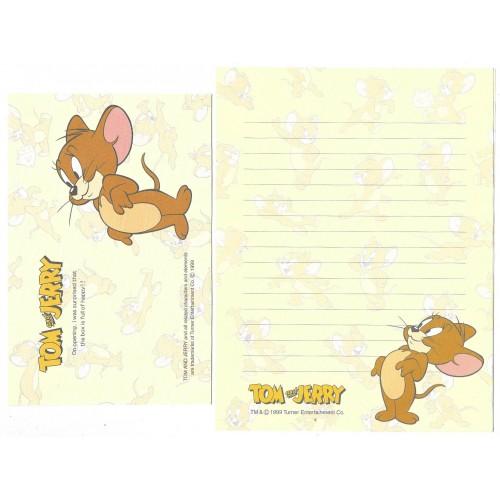Ano 1999. Conjunto de Papel de Carta IMPORTADO Tom & Jerry CJE