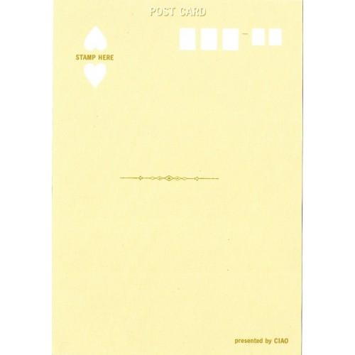 Postcard Postal Mr. Cookie CIAO Japan