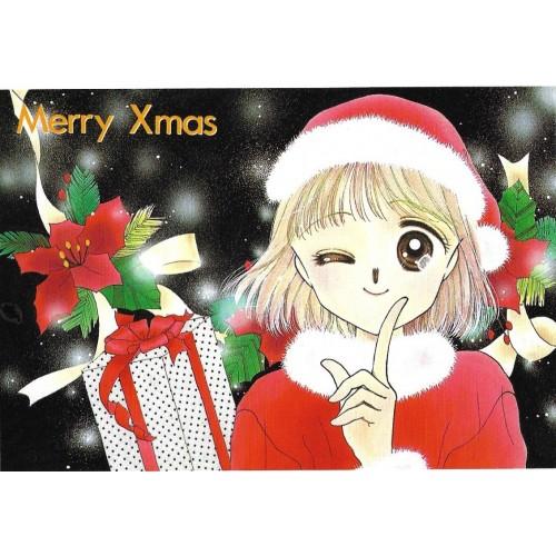 Postcard Postal Merry Christmas 3 Japan