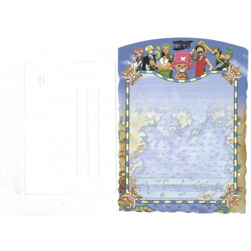 Conjunto de Papel de Carta One Piece 2 JAPAN