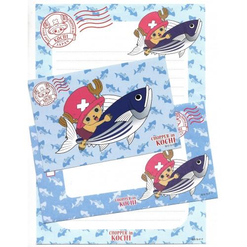 Conjunto de Papel de Carta One Piece Chopper In KOCHI JAPAN