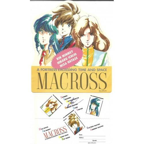 Conjunto de Papel de Carta MACROSS 2 JAPAN