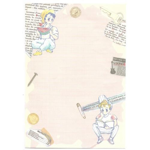 Conjunto de Papel de Carta NAUGHTY-AGE JAPAN
