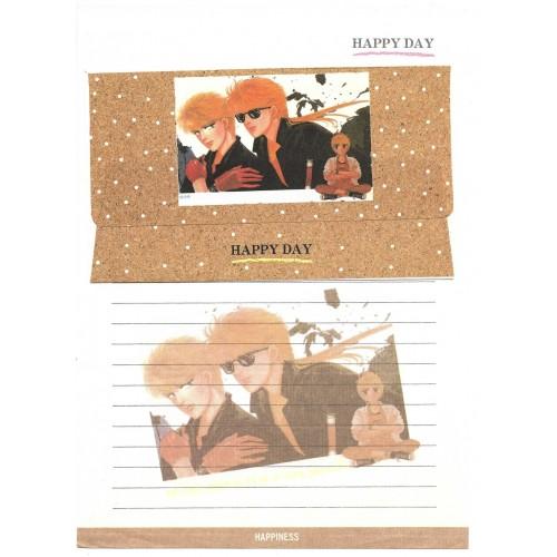 Conjunto de Papel de Carta HAPPY DAY