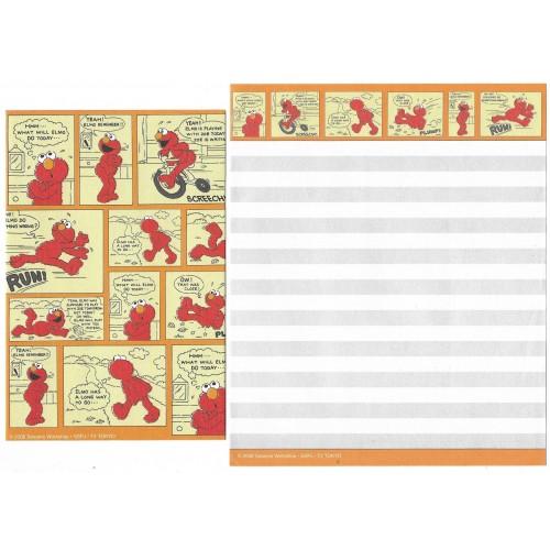 Conjunto de Papel de Carta IMPORTADO Sesame Street 25