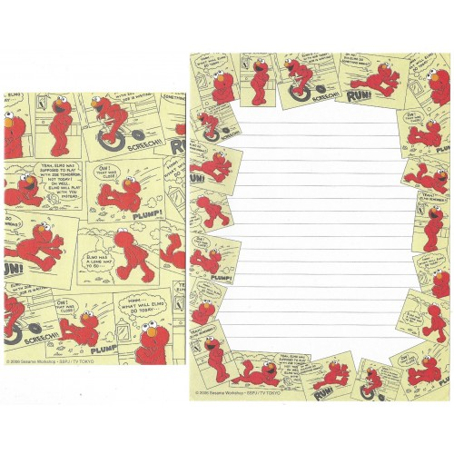 Conjunto de Papel de Carta IMPORTADO Sesame Street 26