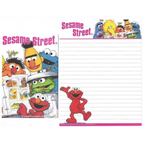 Conjunto de Papel de Carta IMPORTADO Sesame Street 30