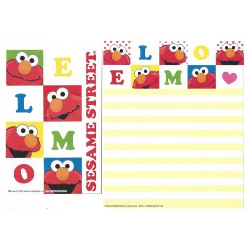 Conjunto de Papel de Carta IMPORTADO Sesame Street 31
