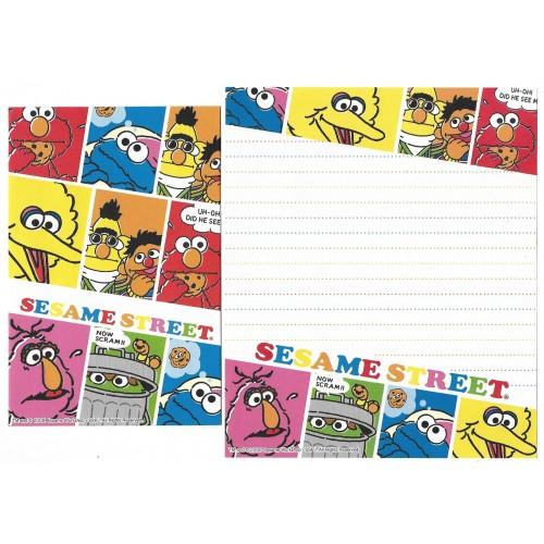Conjunto de Papel de Carta IMPORTADO Sesame Street 32