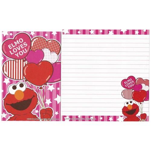 Conjunto de Papel de Carta IMPORTADO Sesame Street 36