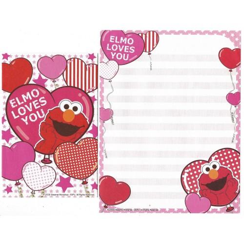 Conjunto de Papel de Carta IMPORTADO Sesame Street 37