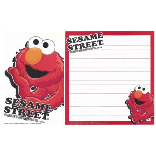 Conjunto de Papel de Carta IMPORTADO Sesame Street 39