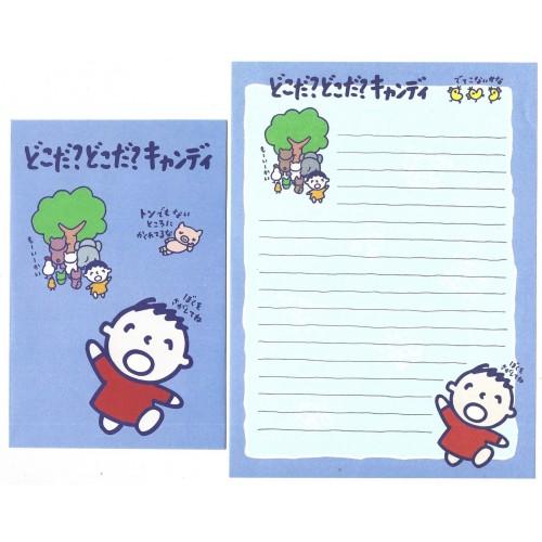 Ano XXXX. Conjunto de Papel de Carta Minna no Tabo CAZ