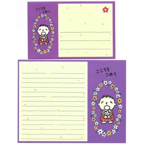Ano XXXX. Conjunto de Papel de Carta Minna no Tabo CFLL