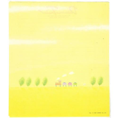 Ano 1980. Papel de Carta AVULSO Dream Train CAM Sanrio