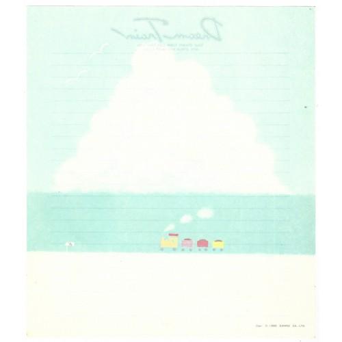 Ano 1980. Papel de Carta AVULSO Dream Train CBR Sanrio