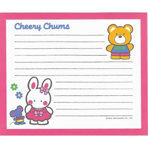 Ano 1995. Papel de Carta Cheery Chums CLL Sanrio