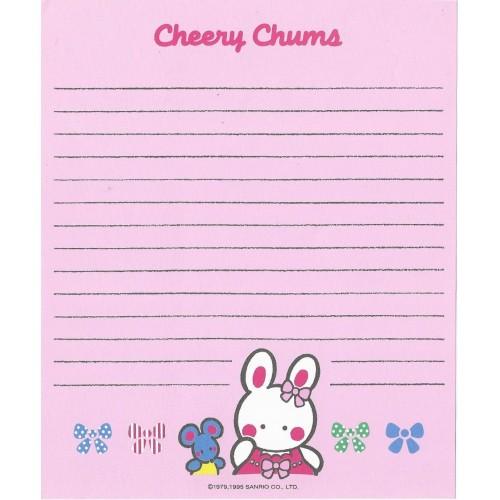 Ano 1995. Papel de Carta Cheery Chums CRS Sanrio