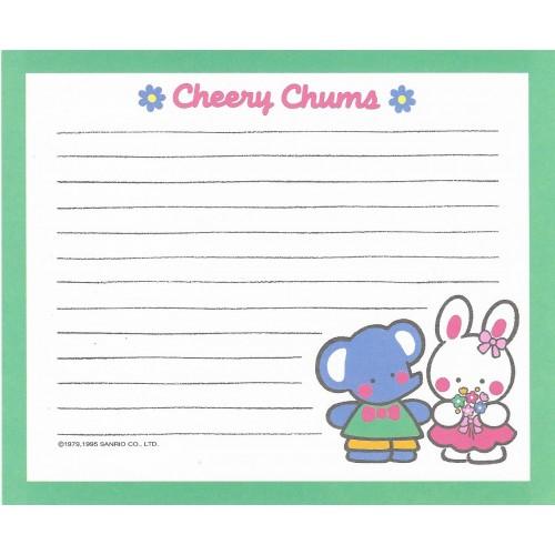 Ano 1995. Papel de Carta Cheery Chums CVD Sanrio