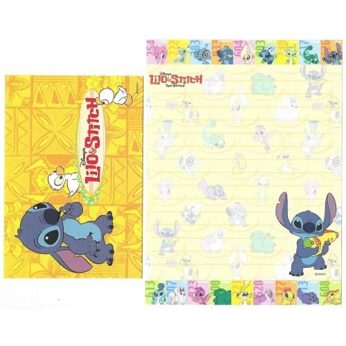 Conjunto de Papel de Carta Lilo & Stitch The Series CAM Disney