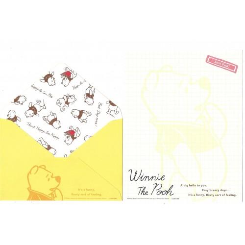 Conjunto de Papel de Carta Importado Disney Winnie The Pooh 1 CAM
