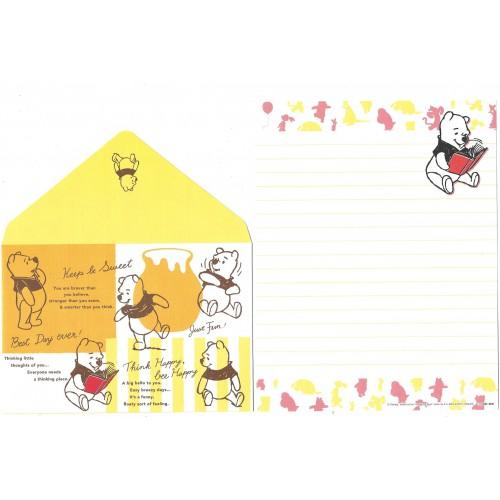 Conjunto de Papel de Carta Importado Disney Winnie The Pooh 1 CAZ