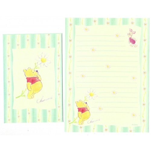 Conjunto de Papel de Carta Disney POOH Chamomile Sun-Star Japan