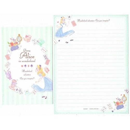 Conjunto de Papel de Carta Disney Alice in Wonderland Adventure CVD KAMIO