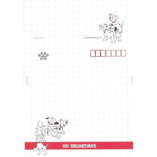 Papel de Carta dobrável ANTIGO VINTAGE 101 Dalmatians CPT JP
