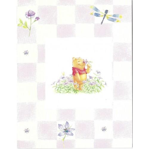 Notecard Disney POOH SEM ENVELOPE CLL 02