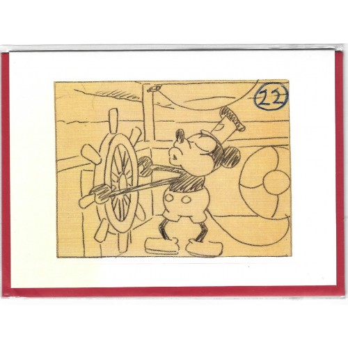 NOTECARD Importado The Archive Collection Mickey Mouse UK