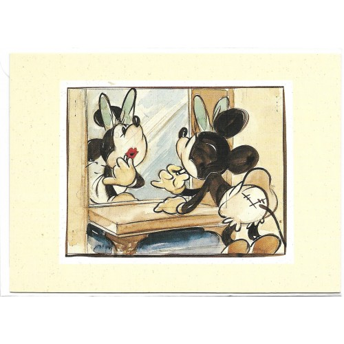 NOTECARD Importado Mickey's Surprise Party 01 UK