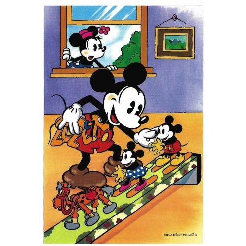 Postcard Antigo Vintage Disney Mickey Mouse LYRIC JAPAN