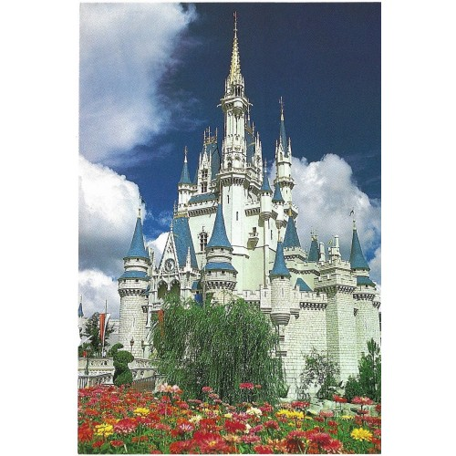 Postcard Antigo Vintage Disney Cinderella Castle
