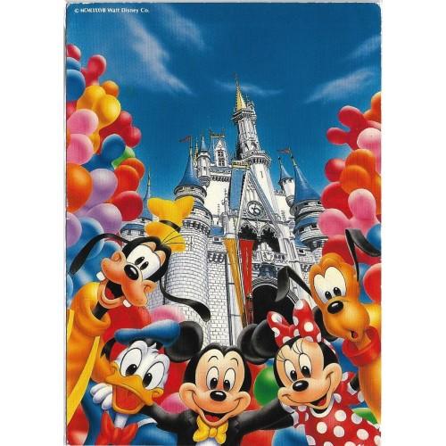 Postcard Antigo Vintage TOKYO Disneyland