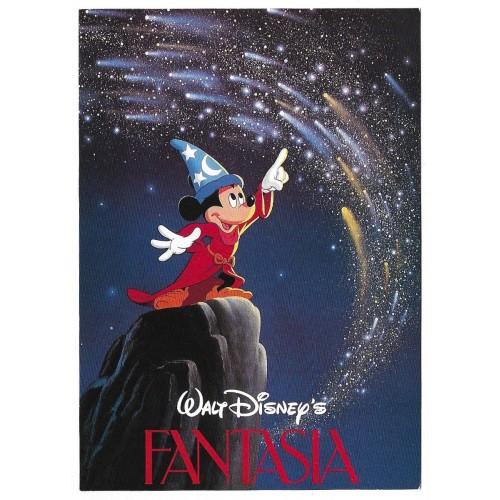 Postcard Antigo Vintage Disney FANTASIA