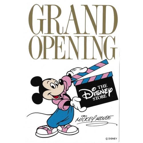 Postcard Antigo Vintage Disney GRAND OPENING Disney Store JAPAN