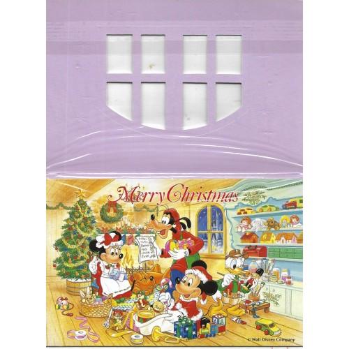 NOTECARD Importado Christmas 1992 TOKYO DISNEYLAND