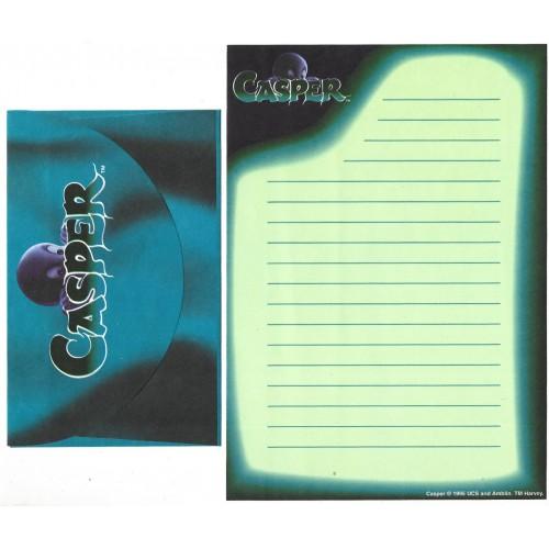 Ano 1995. Conjunto de Papel de Carta IMPORTADO CASPER Gasparzinho CVD