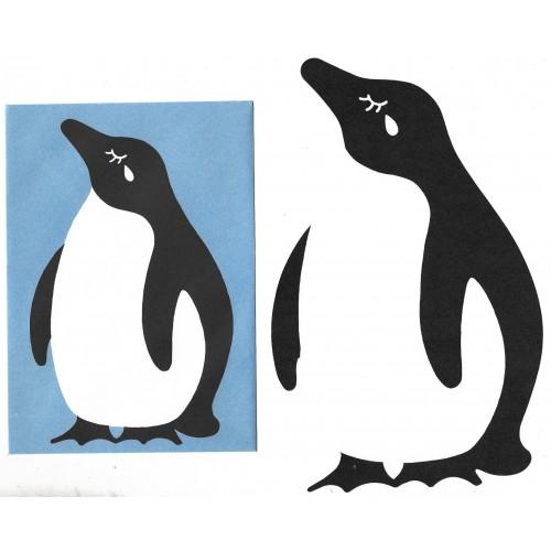 Conjunto de Papel de Carta Importado Penguin CAZ DC