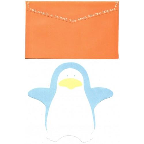 Conjunto de Papel de Carta Importado DC Penguin CLA