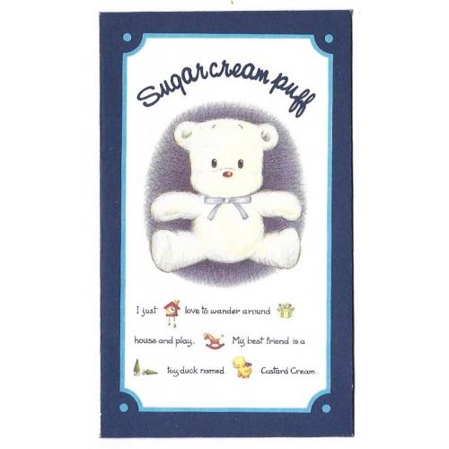 Ano 1992. Mini-Envelope Sugar Cream Puff Sanrio CAZ