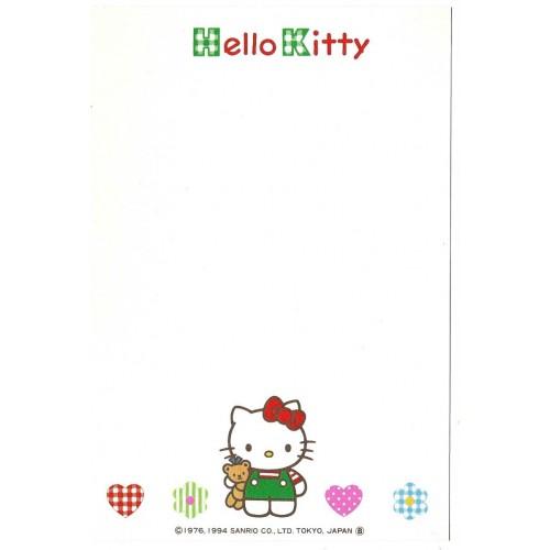 Ano 1994. Postcard Vintage Hello Kitty Sanrio JAPAN