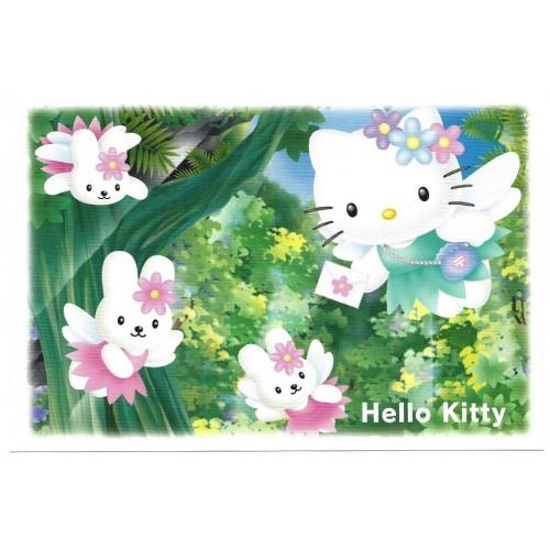 Ano 2003. Postcard Vintage GOTOCHI Kitty 2 Sanrio JAPAN