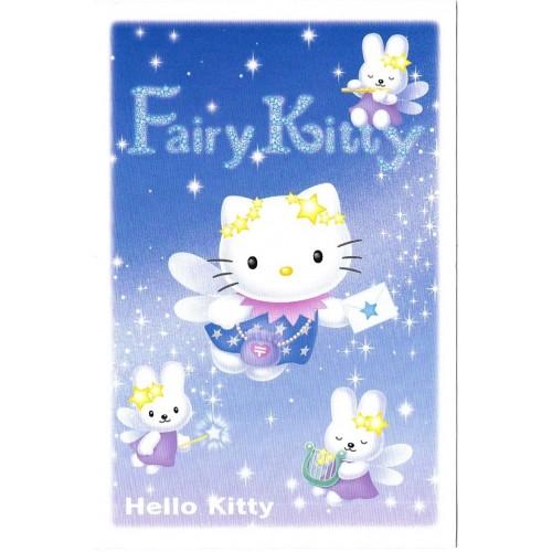 Ano 2004. Postcard Hello Kitty Fairy Kitty Sanrio