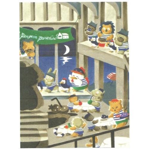 Ano 1991. Conjunto de Papéis de Carta Brownie's Story MM Vintage Sanrio